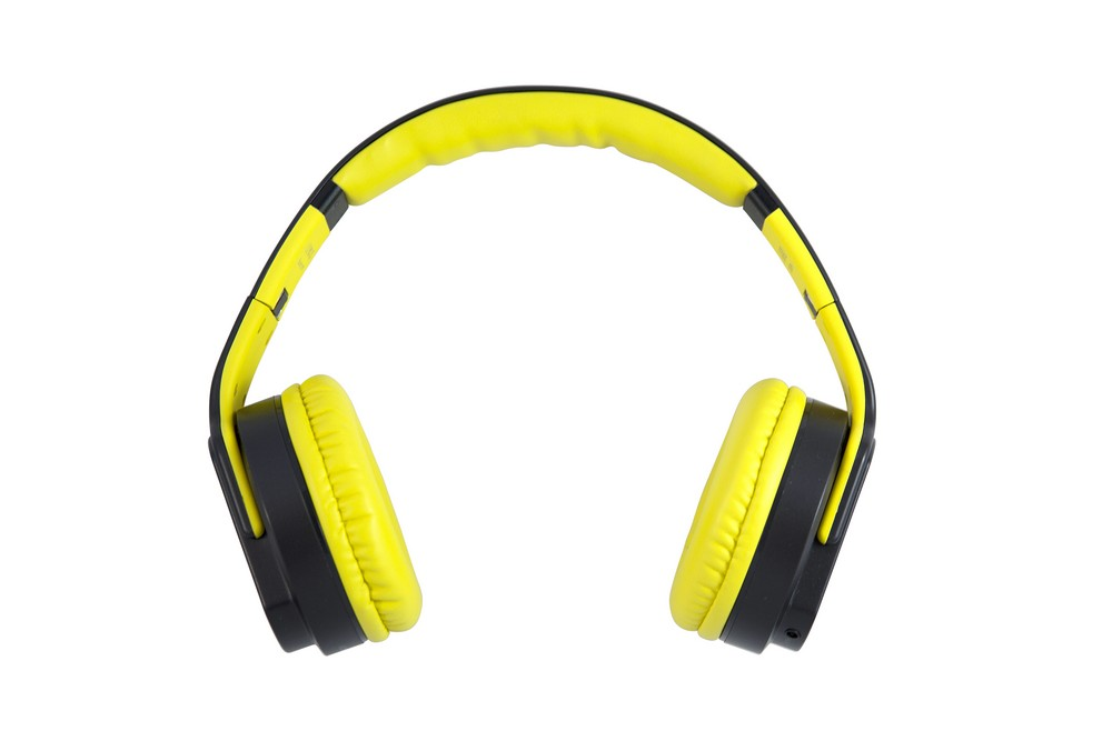 Teknmotion Flipsoundz Bluetooth Headset Flip Out Speaker Yellow