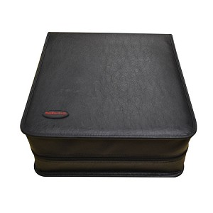 256 CD/DVD Binder Case - Black