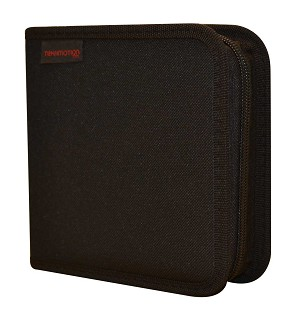 36 Disc Wallet - Black