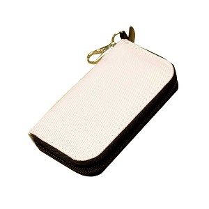 SD Card or DS Game Card Wallet - White