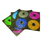 20 Page (160 discs) Refill Sleeves for 256/320/400